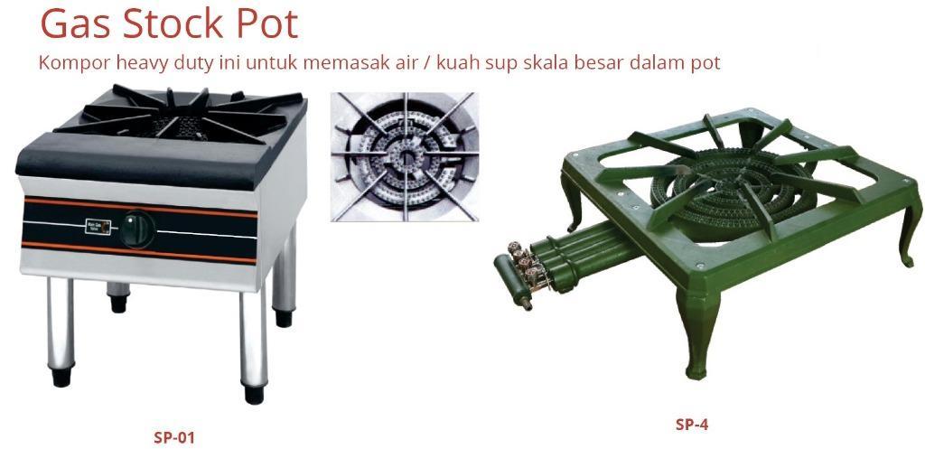 GAS STOCK POT(SP-01)
