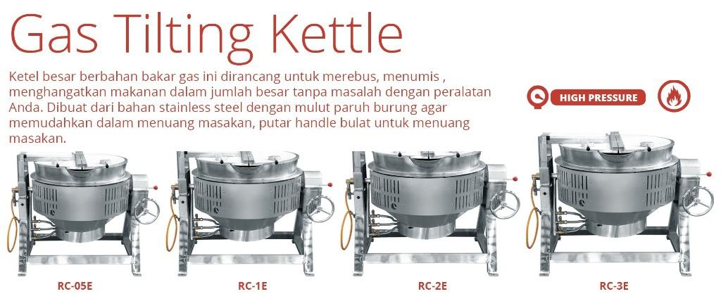 GAS TILTING KETTLE(RC-2E)