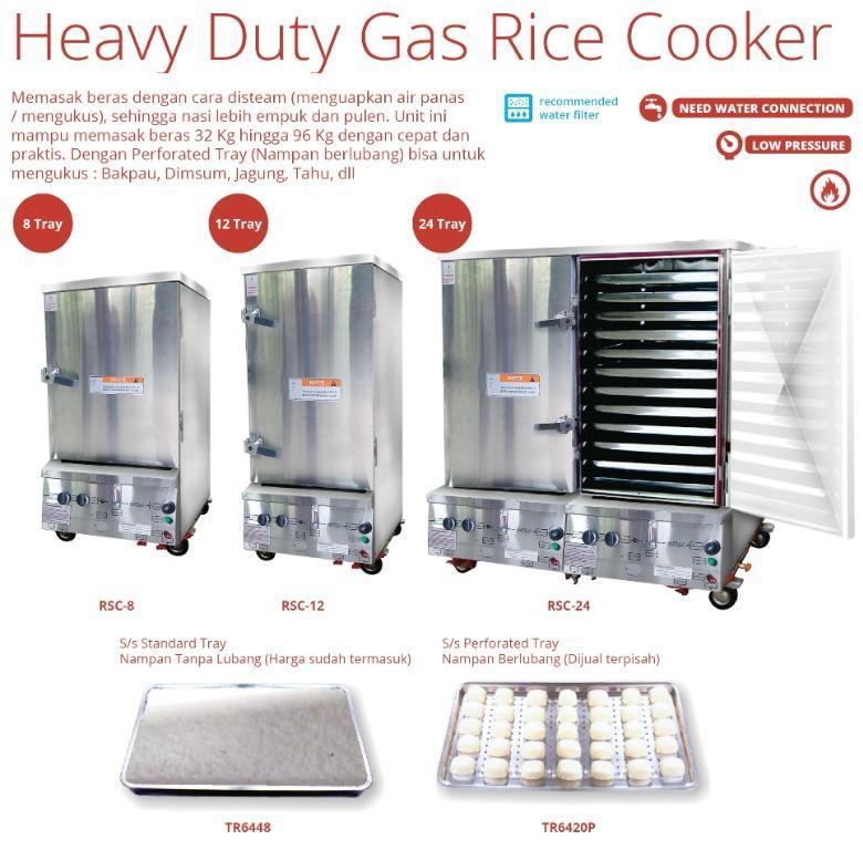 HEAVY DUTY GAS RICE COOKER(RSC-24)