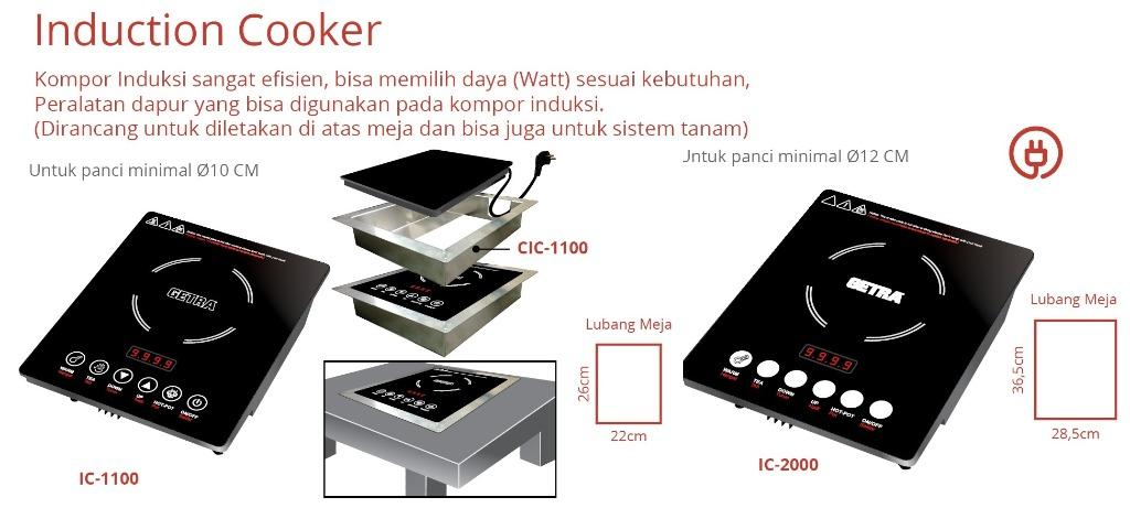 INDUCTION COOKER(IC-2000)