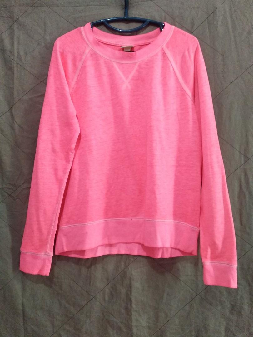 Neon pink stabilo sweater