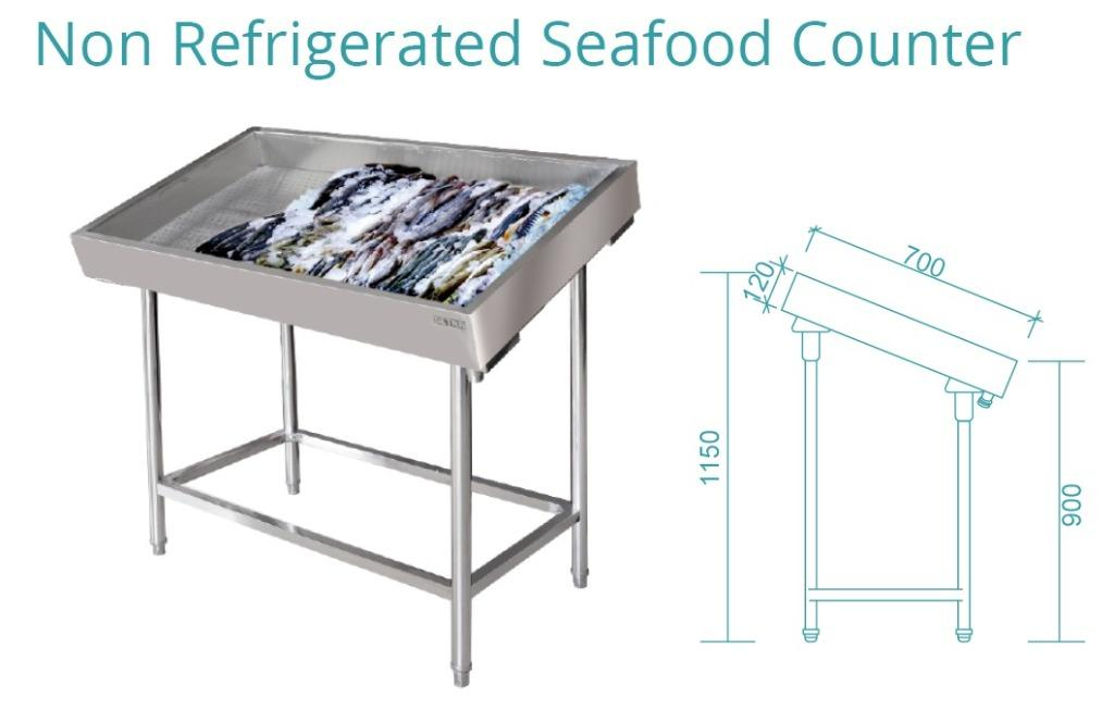 NON REFRIGERATED SEAFOOD COUNTER(SFC-120)
