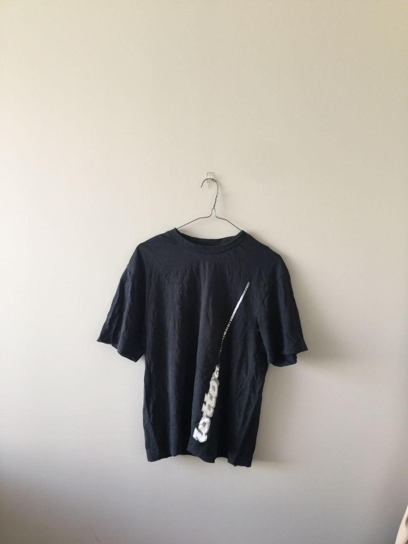 Oversized vintage lotto shirt