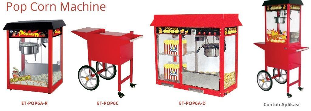 POP CORN MACHINE (ET-POP6A-R)