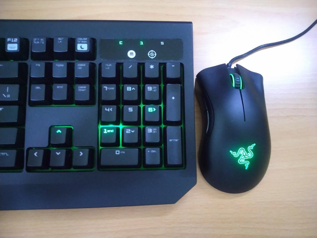 RAZER 雷蛇 電競鍵盤 滑鼠