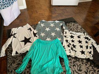 SHEIN tops worn only once sizes are L-XL I got big because I like my shirts baggier