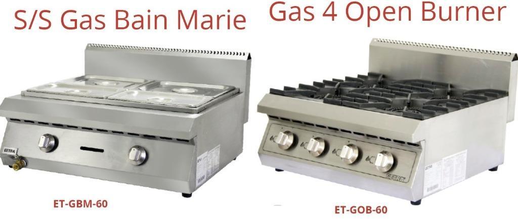 S/S GAS BAIN MARIE(ET-GBM-60)