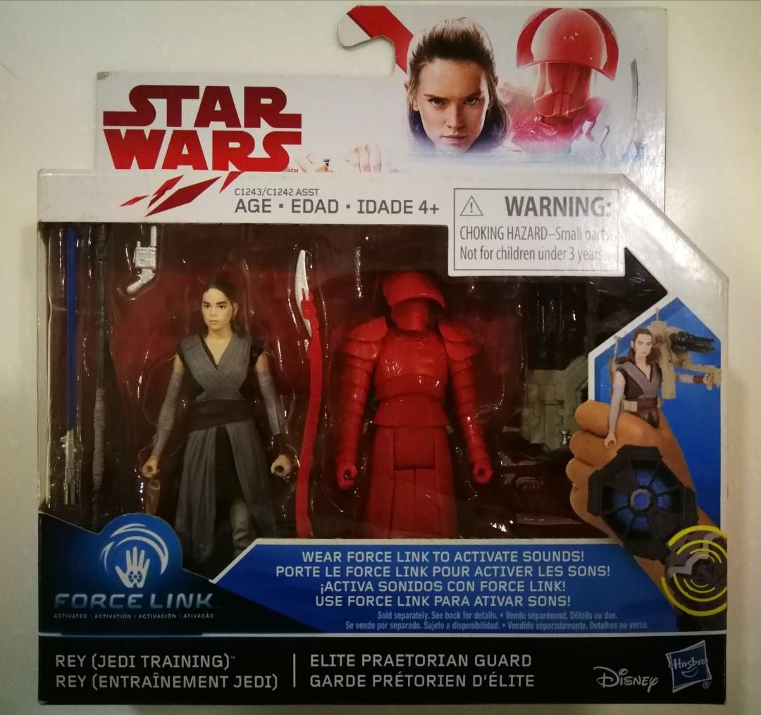 /& Elite prétorienne Guard Star Wars Force Link le dernier Jedi Rey JEDI TRAINING