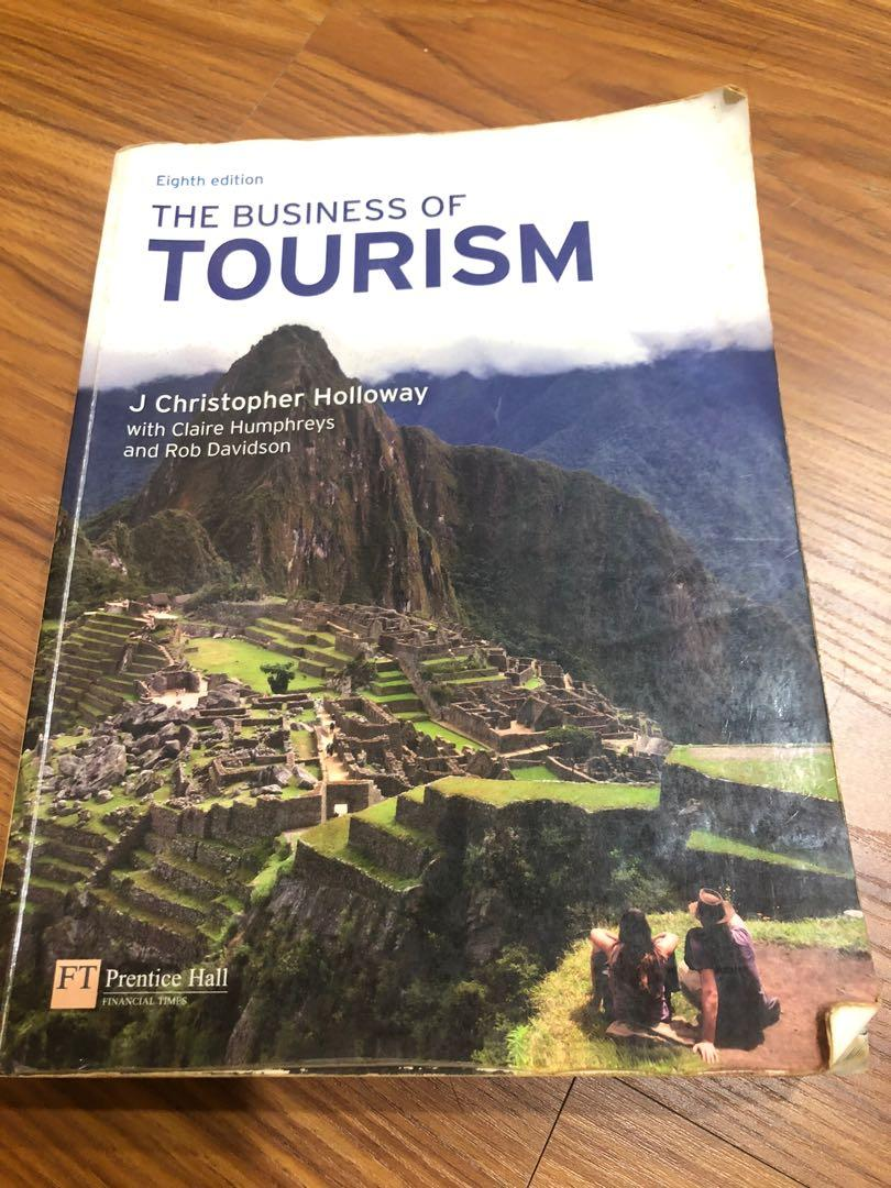 The Business of Tourism 8th edition  #開學季
