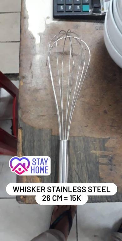 Whisker (Pengocok Telur) Stainless Steel 26 cm