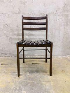 3 unit Wood Chair (Kerusi Kayu)
