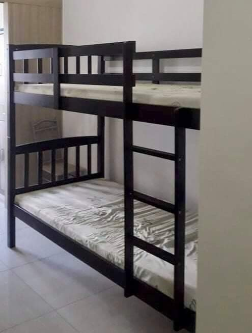 3 Pcs Used Bunk Bed 8k Each Home Furniture Furniture Fixtures Beds Mattresses On Carousell