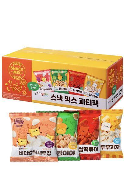 韓國餅乾四種口味一次滿足(一箱共20包)