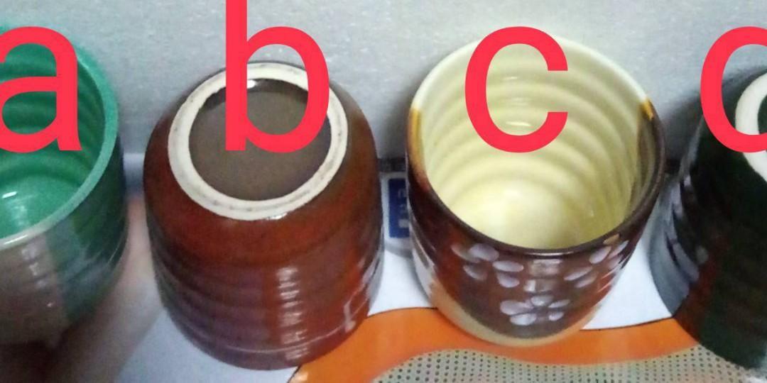 手作陶瓷杯> 購物贈品