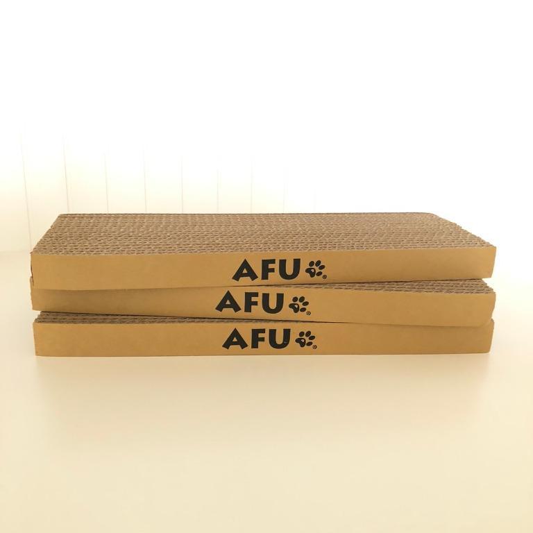 ✨全新✨ AFU 長形貓抓板 磨爪抓板 貓玩具 40公分