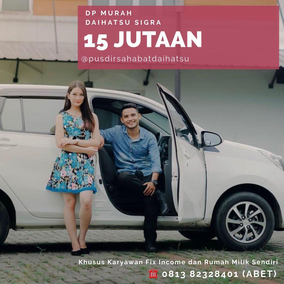 ANGSURAN MURAH Daihatsu Sigra mulai 2,7 jutaan. Daihatsu Fatmawati