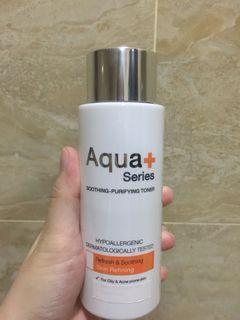 Aqua plus series toner ukuran 150ml
