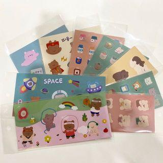 assorted bear stickers 🐻