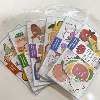 assorted cute stickers