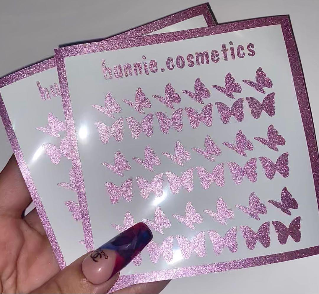 SALE ‼️ Baby pink nail decal stickers