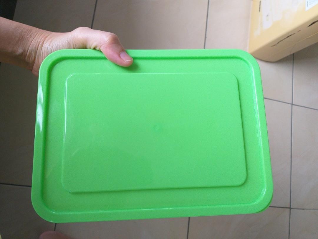 Box Kotak Plastik Warna Hijau