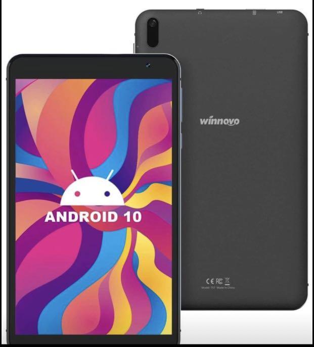 Brand new 7-Inch Tablet Android 10.0 - Winnovo Tablets PC Quad-Core Processor 32GB Storage