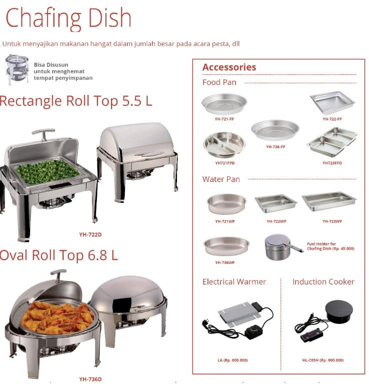 CHAFING DISH (YH-721-FPD)