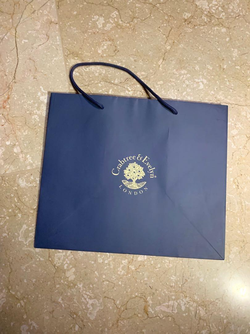 crabtree evelyn paper bag