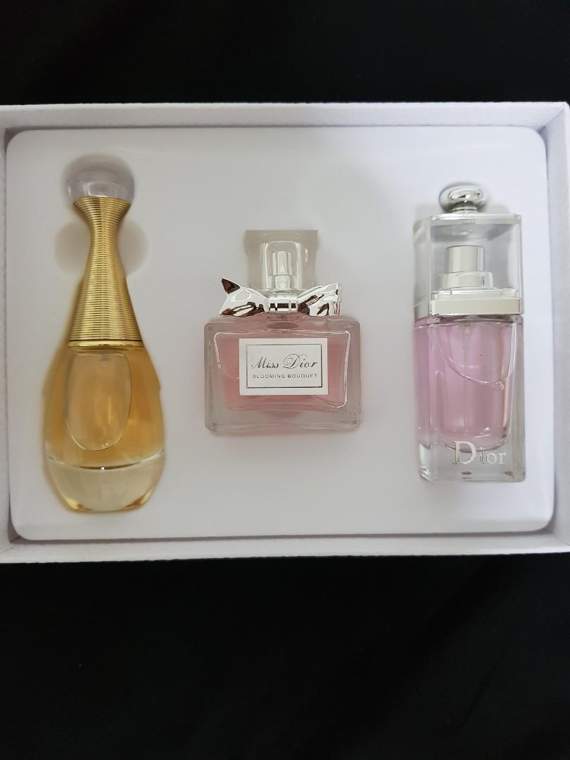 90ml Dior Perfume Gift Set Edp Health Beauty Perfumes Deodorants On Carousell
