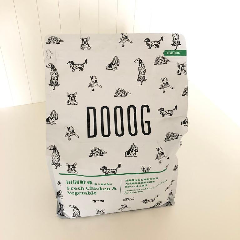 ✨全新✨DOOOG 杜革 低敏無穀犬糧 田園鮮雞低卡輕食配方 狗飼料 2.27kg