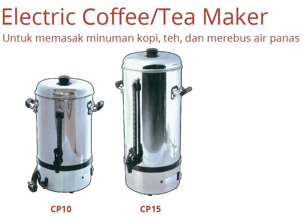 ELECTRIC COFFEE/TEA MAKER (CP15)
