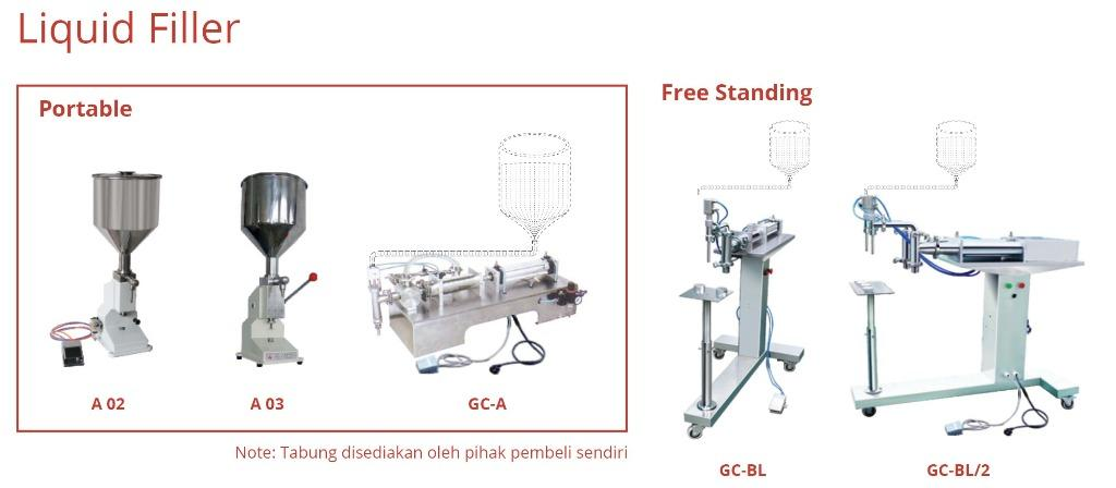 FILLER MACHINE (GC-BL)