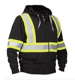 Forcefield Hi Vis Safety Hoodie (Size M)