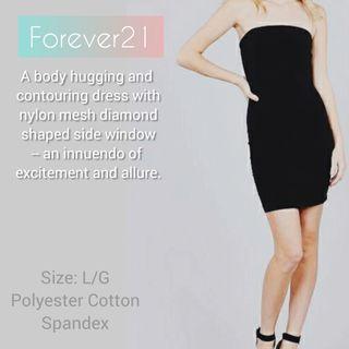 Forever21 Strapless Dress