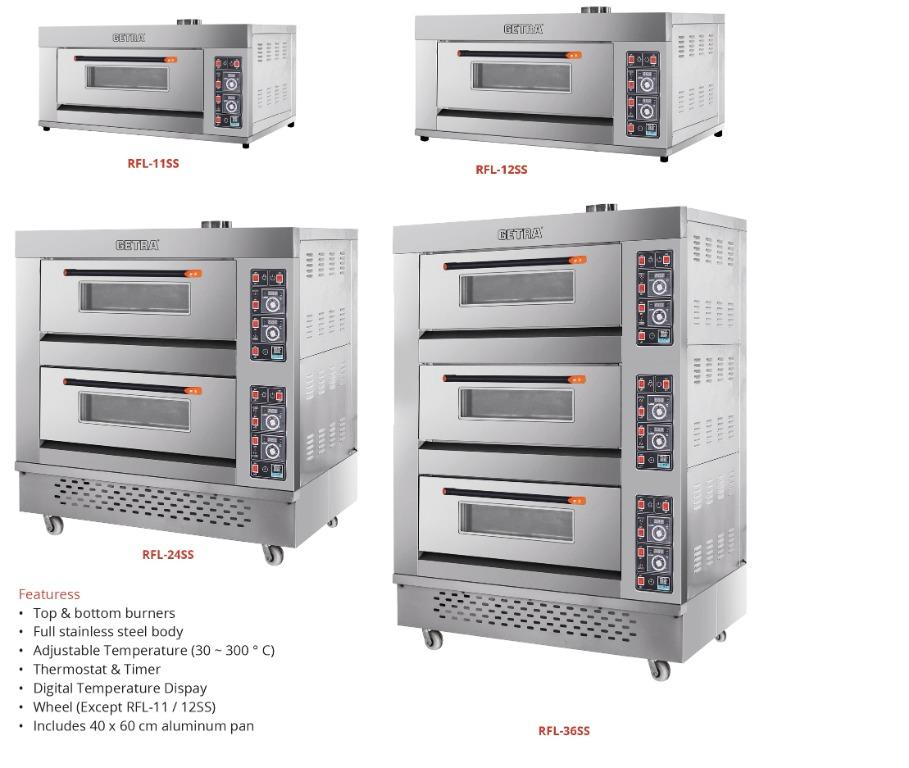 GAS OVEN (RFL-24SS)