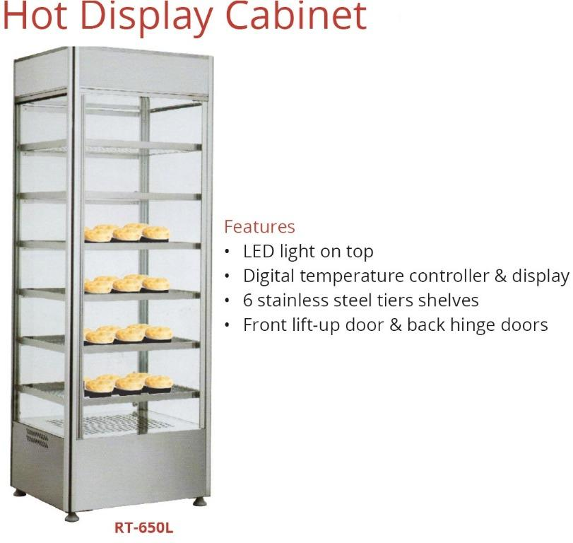 HOT DISPLAY CABINET (RTR-650L)