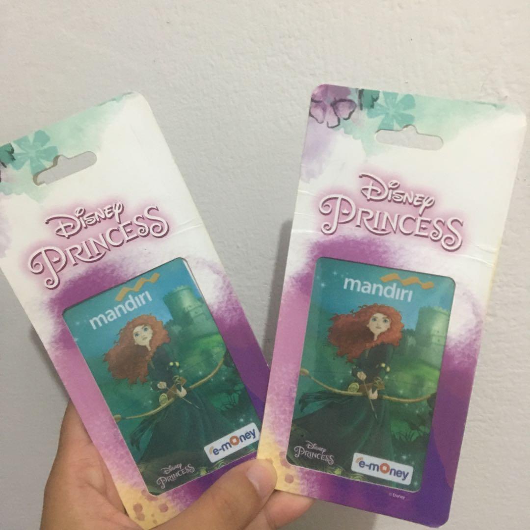 Kartu Emoney Mandiri Disney Limited Edition