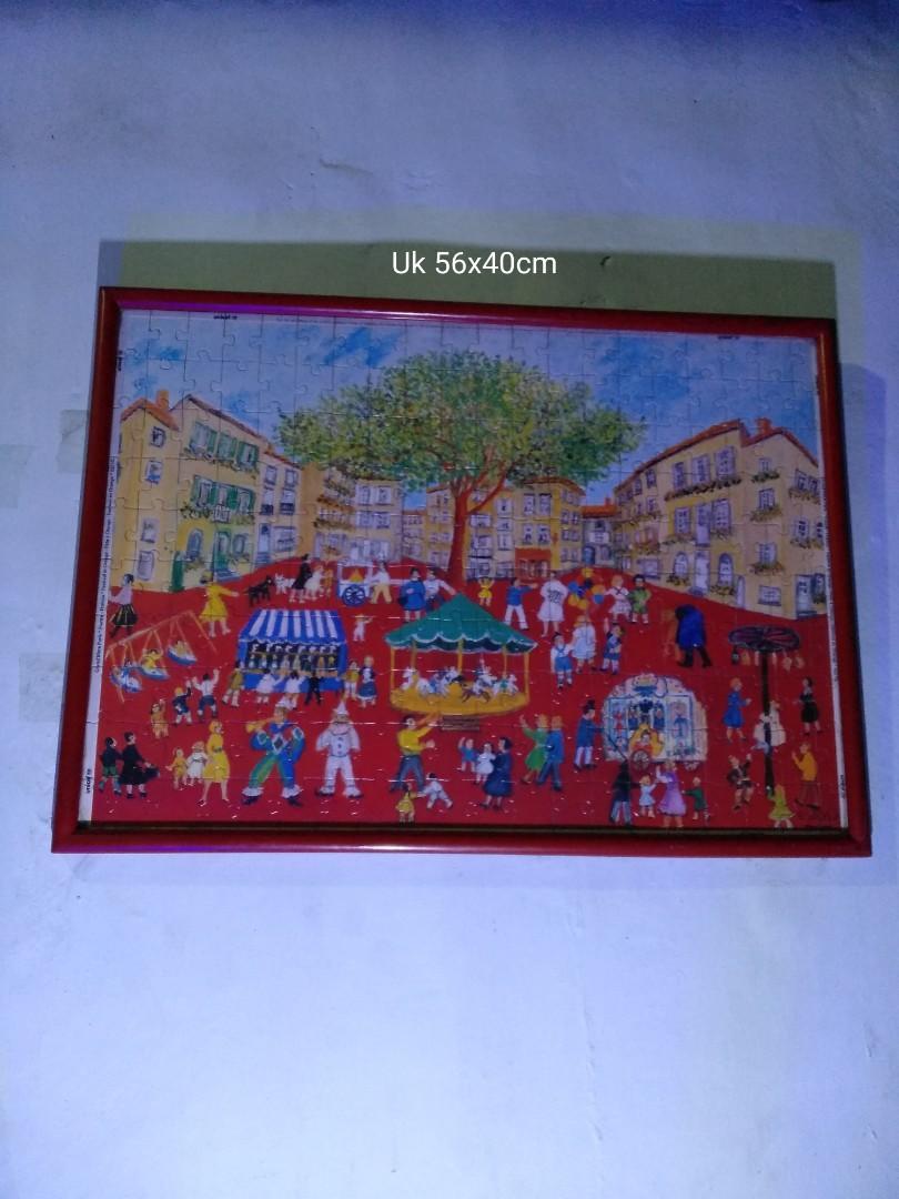 Lukisan Puzzle siap pajang