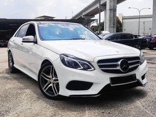 Mercedes-Benz E250 2.0 AMG 13/15 CBU local uaed unit