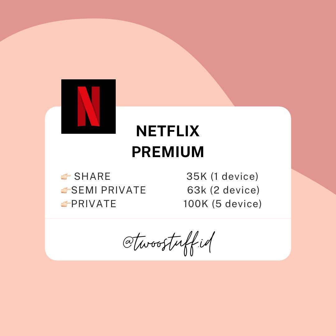 Netflix premium anti on hold