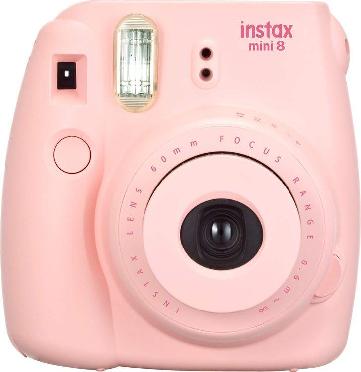 Pink Polaroid Mini 8 Camera