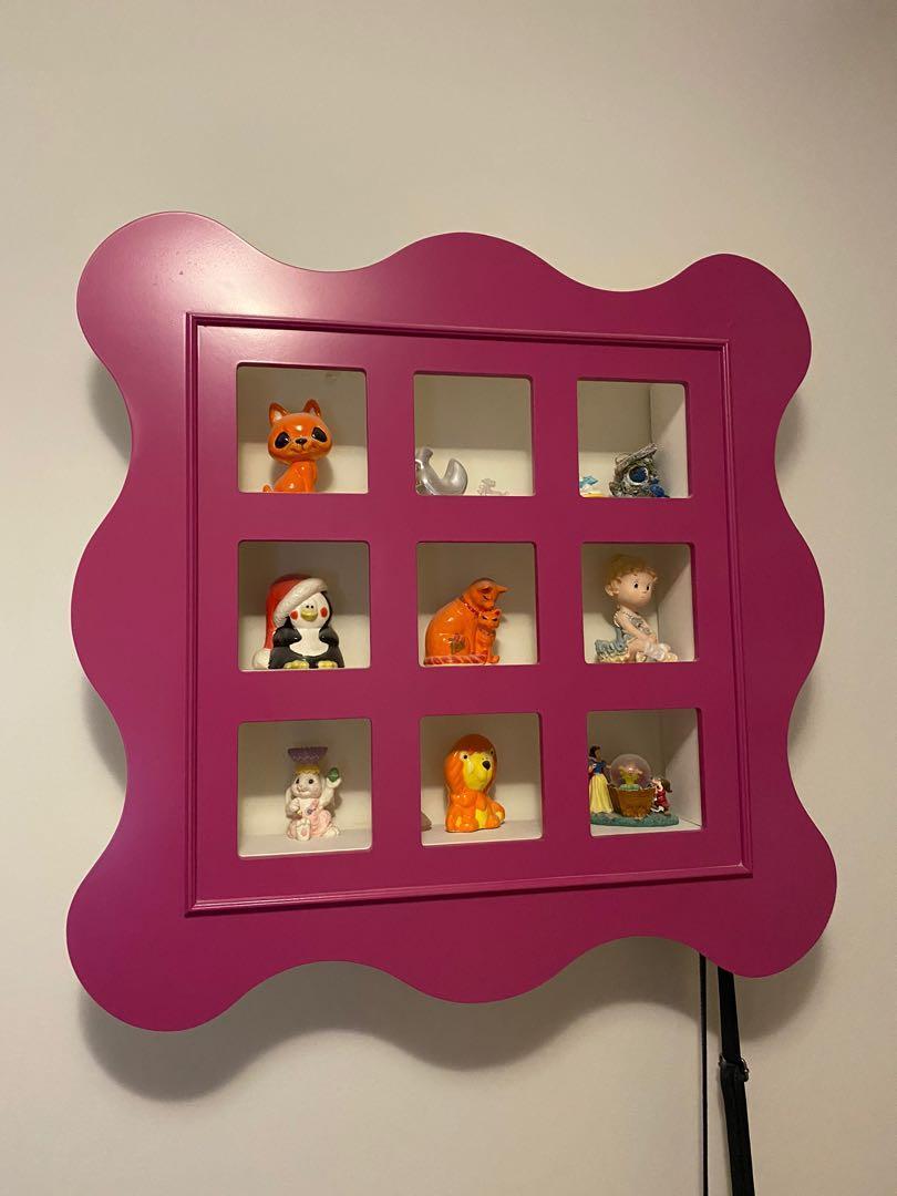 Pink Wall Shelf