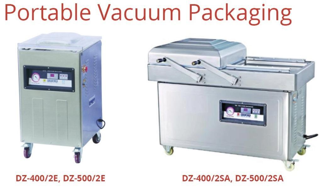 PORTABLE VACUUM PACKAGING (DZ-400/2SA)