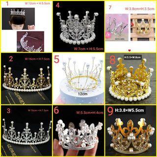 Princess tiara/crown for cake deco