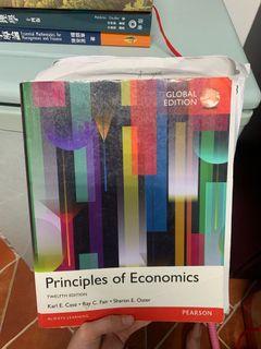 Principles of economics  經濟學 原文書