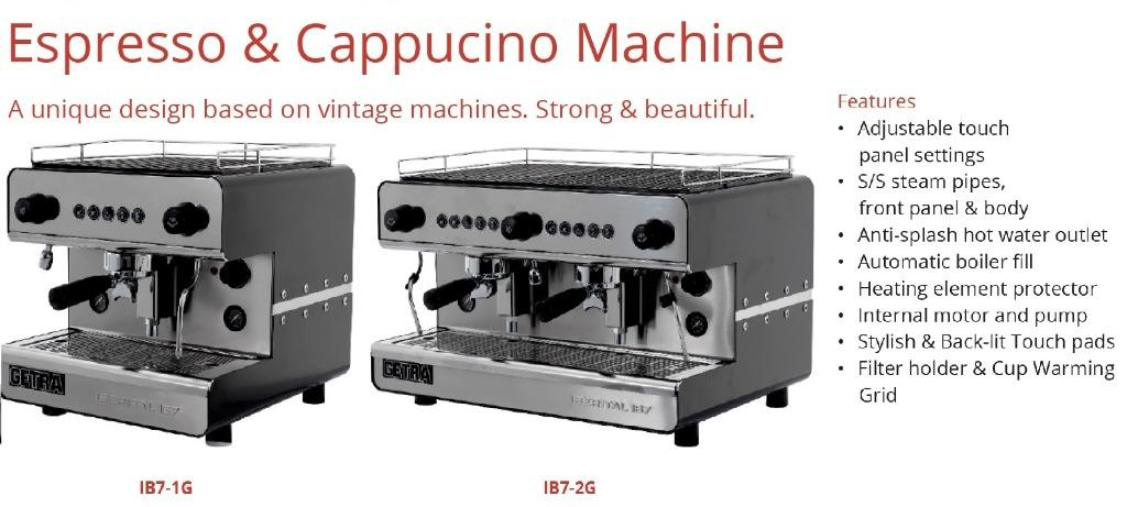 PROFESSIONAL COFFE MACHINE (IB7-2G)