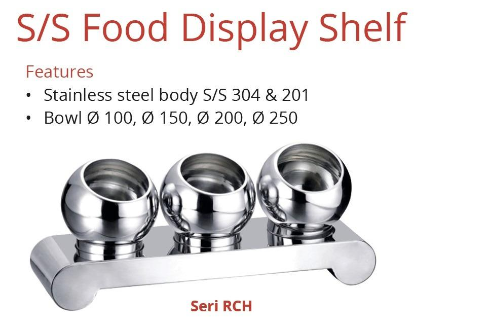S/S FOOD DISPLAY SHELF (RCH-315)