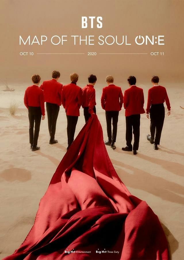 Tiket BTS Map Of The Soul (MOTS) ON:E Exhibition 10-11 Oktober 2020