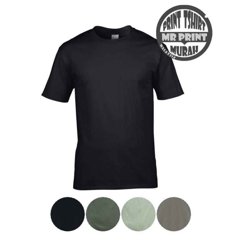 Tshirt Printing Embroidery Supplier Baju Kosong Jersi Men S Fashion Clothes Tops On Carousell