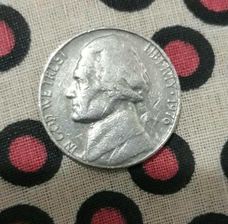 Uang Koin Amerika 1976 Kuno